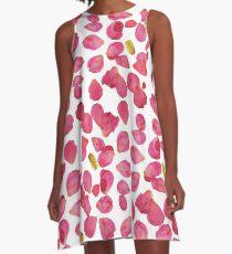 19th Street Petals  A-Line Dress