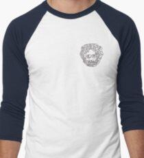 Jerry Garcia Baseballshirt mit 3/4-Arm
