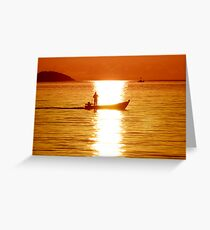 Sun Trail Greeting Card