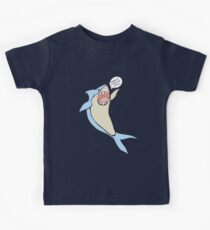 the 'have a lovely day' shark Kids Tee