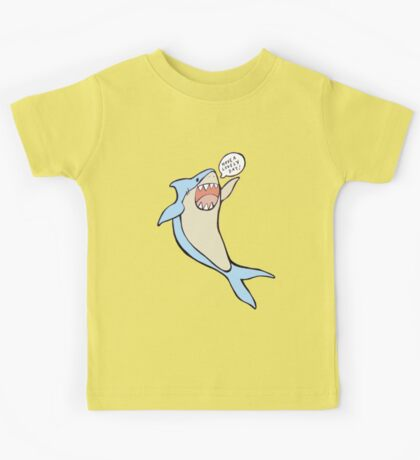 the 'have a lovely day' shark Kids Clothes