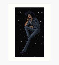 clipping. Cargo 2331 fanart Splendor & Misery Space Odyssey  Art Print