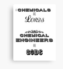 Chemical Engineers Canvas Print