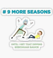 # 9 MORE SEASONS Sticker