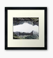 Colour Flipped Rural Landscapes Framed Print