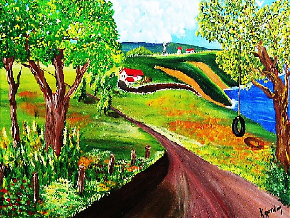 Road to Upcountry by WhiteDove Studio kj gordon