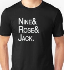 Ninth Doctor Companions Unisex T-Shirt