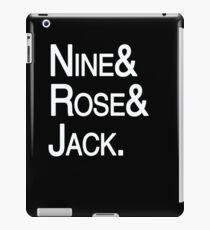 Ninth Doctor Companions iPad Case/Skin