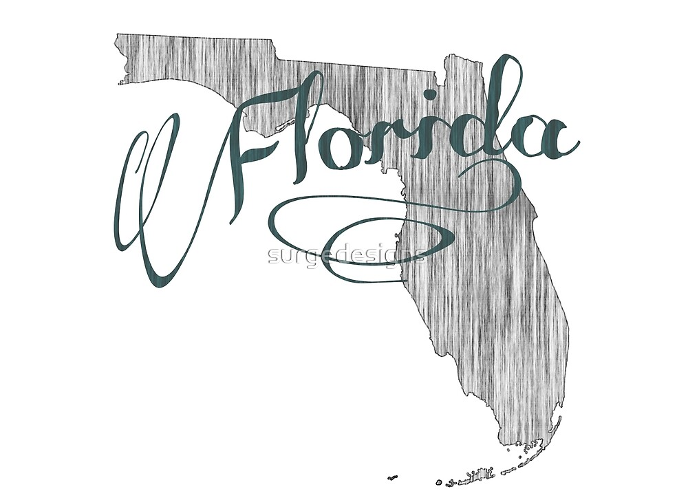 Florida State Typography by surgedesigns