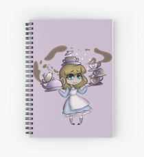 Alice, It's Tea Time! Spiral Notebook
