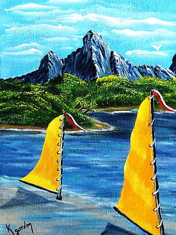 Magic Blue Mountain by WhiteDove Studio kj gordon