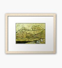 """Cradle Mountain"" Framed Print"