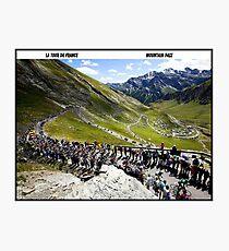 TOUR DE FRANCE: Vintage Bike Racing Print Fotodruck