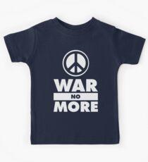 WAR NO MORE Kids Tee