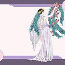 Art Deco Bride by redqueenself