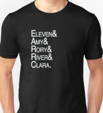 Eleventh Doctor Companions T-Shirt