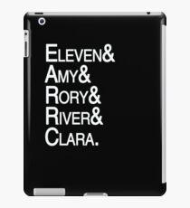 Eleventh Doctor Companions iPad Case/Skin