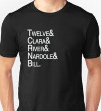 Twelfth Doctor Companions Unisex T-Shirt