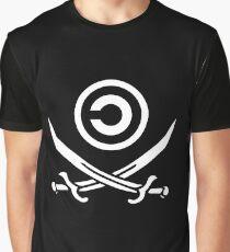 Copyleft pirate Graphic T-Shirt