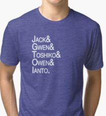 Torchwood Team Tri-blend T-Shirt