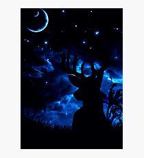 Prongs night Photographic Print