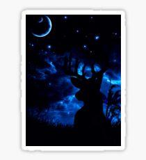 Prongs night Sticker