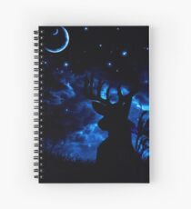 Prongs night Spiral Notebook