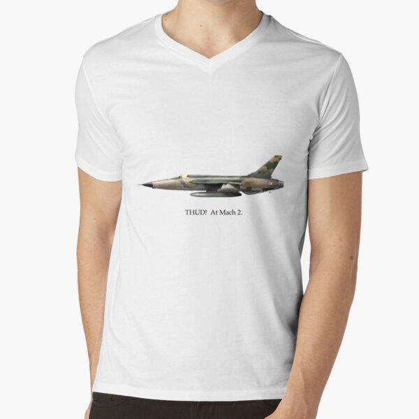 THUD!  At Mach 2. V-Neck T-Shirt