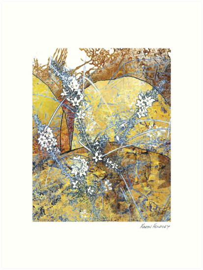 Spring Flowers 5 by Karyn Fendley