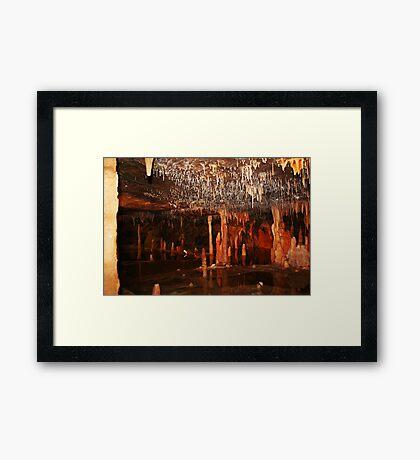 Buchan Höhle in Victoria Gerahmter Kunstdruck