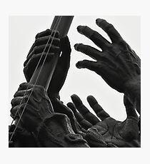 Hands of Iwo Jima Photographic Print