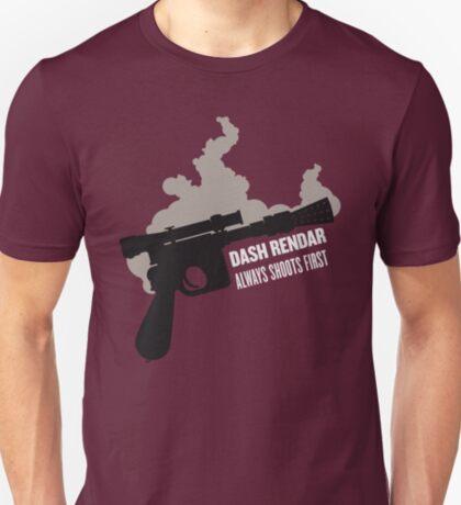 Dash Rendar ALWAYS Shoots First T-Shirt