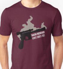 Dash Rendar ALWAYS Shoots First Slim Fit T-Shirt