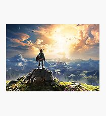 Zelda : Breath of the Wild Photographic Print