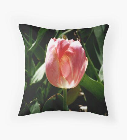 sunkissed tulip Throw Pillow