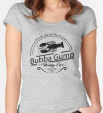 Bubba Gump Fresh Shrimp Women's Fitted Scoop T-Shirt