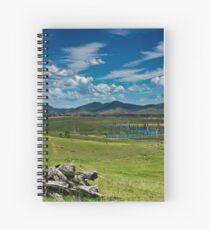 Kilcoy view Spiral Notebook
