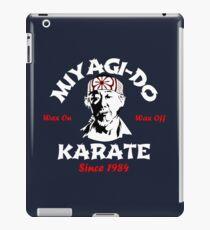 Dojo Karate Miyagi Do iPad Case/Skin