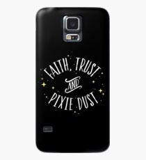 Faith Trust and Pixie Dust // Peter Pan Tshirt Case/Skin for Samsung Galaxy