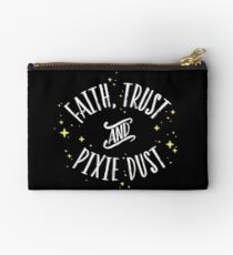 Faith Trust and Pixie Dust // Peter Pan Tshirt Studio Pouch