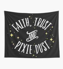 Tela decorativa Faith Trust y Pixie Dust // Peter Pan Tshirt