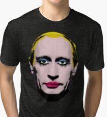 Gay Clown Putin Tri-blend T-Shirt