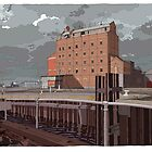 Harts Mill west by David  Kennett