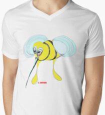 Bee Men's V-Neck T-Shirt