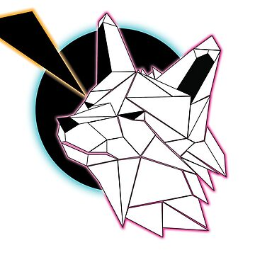 Low Poly Wolf by Drevin