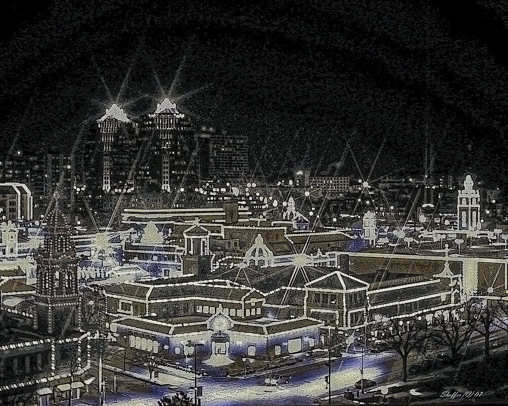 Country Club Plaza Kansas City Mo by Scott Shaffer