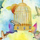 Ready to Take Wing  (Breaking Free) by PrettyGeekChic