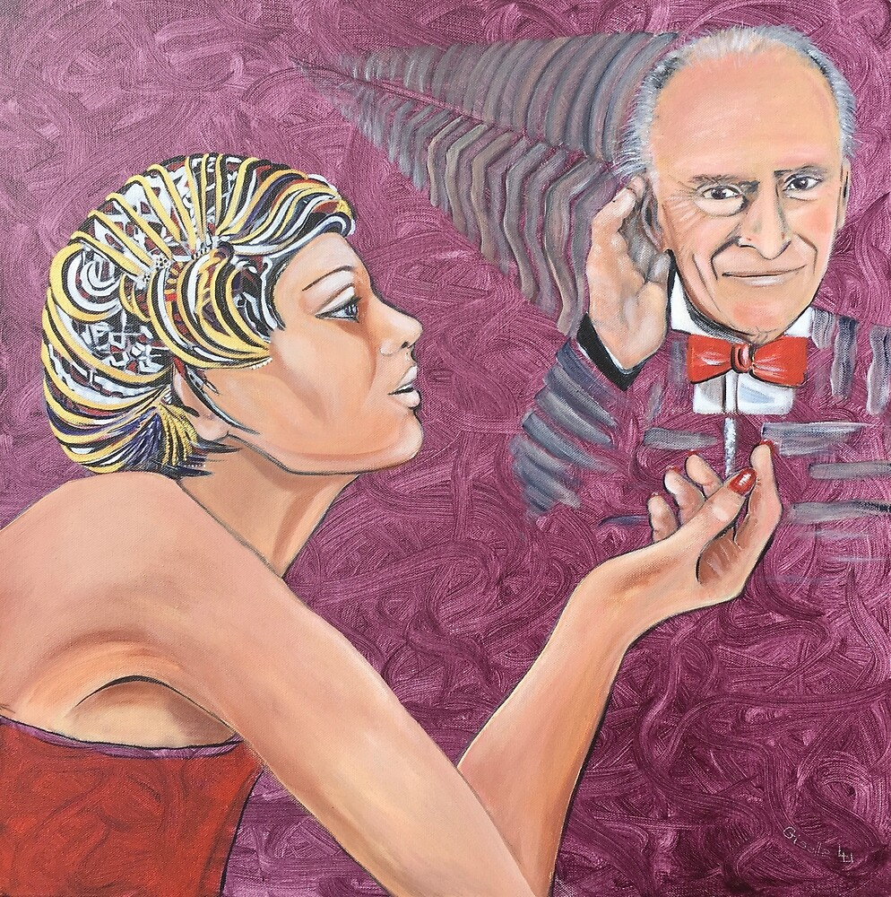Violinist and Conductor Menuhin by Giselle Luske