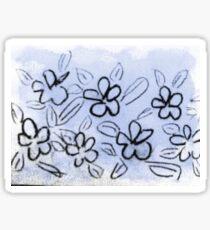 winter flowers Sticker