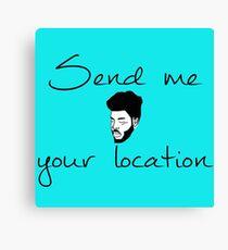 Khalid Send Me Your Location Canvas Print